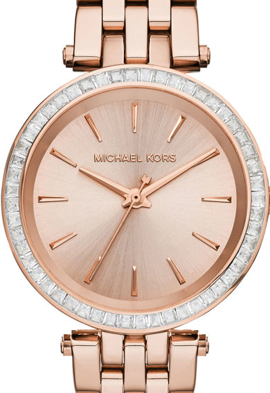 Michael Kors Ceas decorat cu cristale Mini Darci Femei