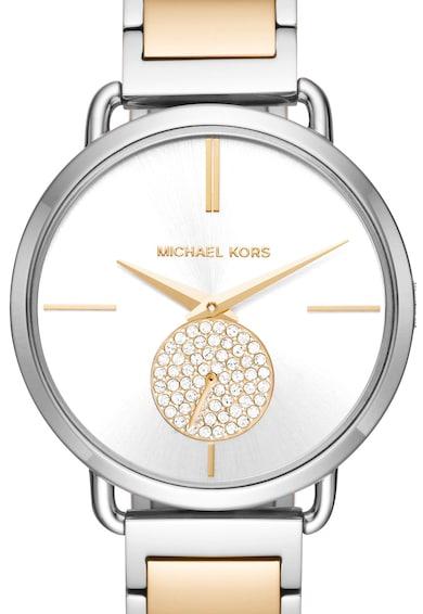 Michael Kors Ceas din otel inoxidabil Portia Femei
