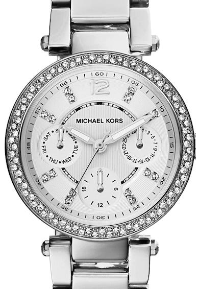 Michael Kors Ceas cronograf cu bratara metalica Mini Parker Femei