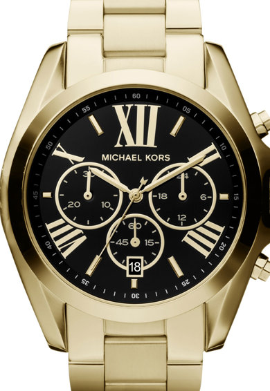 Michael Kors Часовник Bradshaw с хронограф и метална верижка Жени