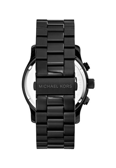 Michael Kors Ceas cronograf cu bratara metalica Runway Barbati