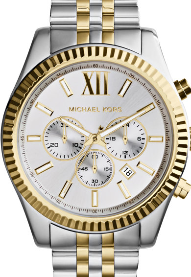 Michael Kors Lexington Fémszíjas Chrono Karóra férfi