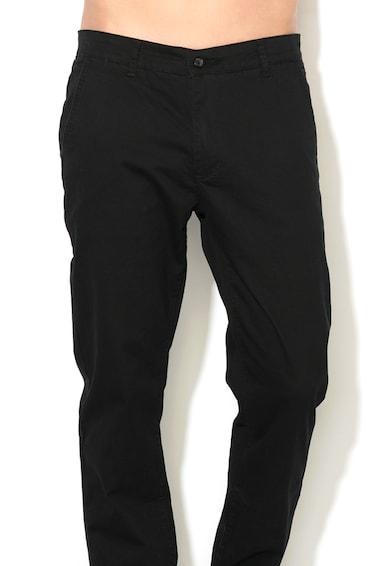 Zee Lane Denim Pantaloni chino cu gaici pentru curea Barbati