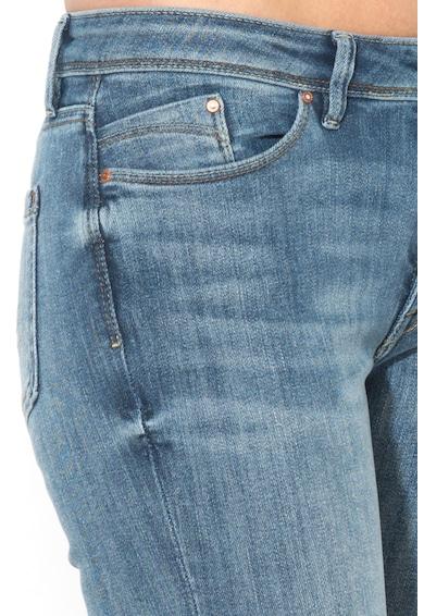 EDC by Esprit Blugi skinny cu aspect decolorat Femei