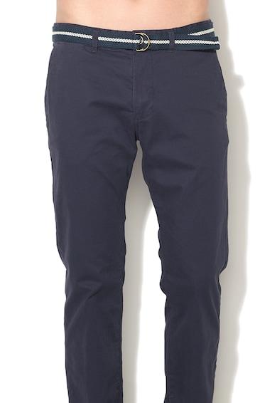 Esprit Pantaloni chino slim fit cu curea detasabila Barbati