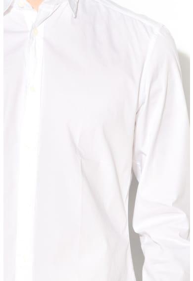 Esprit Hosszú ujjú szűk fazonú ing férfi