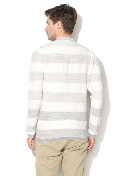 Esprit Pulover din tricot fin cu model in dungi Barbati