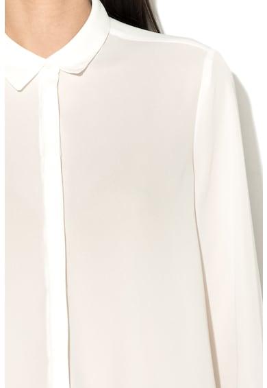 Esprit Camasa transparenta cu guler ascutit Femei