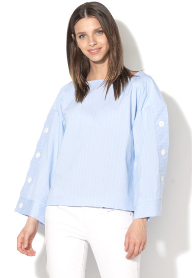 EDC by Esprit Bluza cu model in dungi si maneci ample Femei