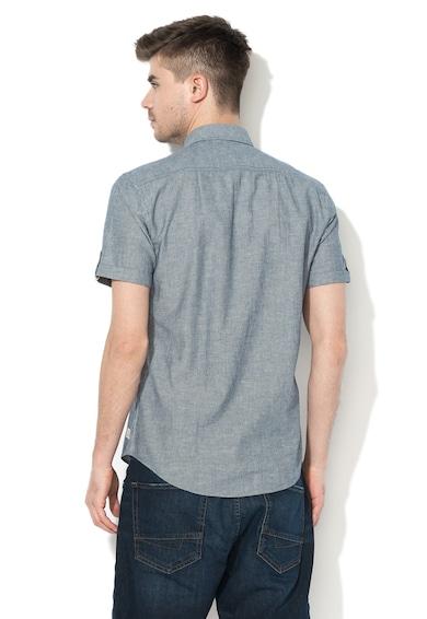 Esprit Lentartalmú regular fit ing zsebbel a mellkasán férfi