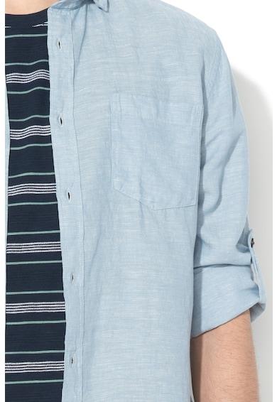 Esprit Риза с лен и стандартна кройка Мъже