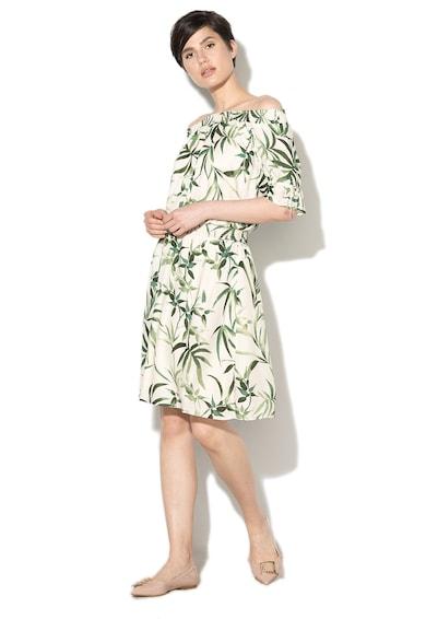 Esprit Ефирна рокля с голи рамене и набирания Жени