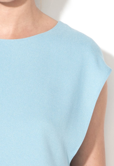 Esprit Блуза с овално деколте без ръкави Жени