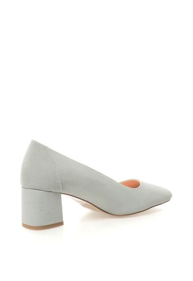Esprit Pantofi de piele nabuc sintetica cu toc masiv Femei