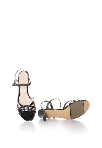 Esprit Лачени сандали от еко кожа с каишки Жени