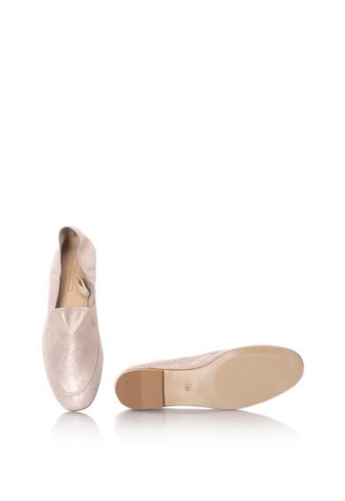 Esprit Nyersbőr cipő fényes hatással női