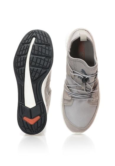 Puma Pantofi sport slip-on cu insertii de piele intoarsa Blaze Ignite Elemental Barbati