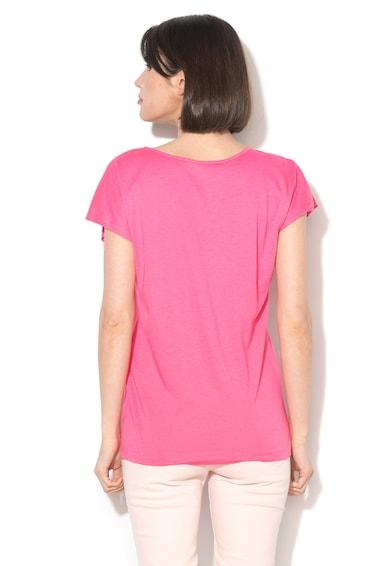 Love Moschino Tricou din amestec de modal cu decolteu adanc Femei