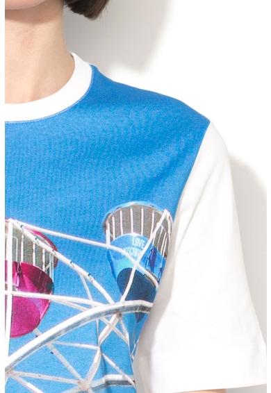 Love Moschino Тениска с фотопринт Жени