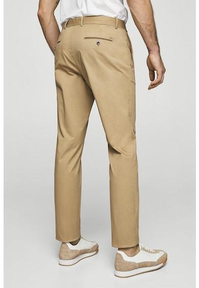 Mango Прилепнал панталон чино Мъже