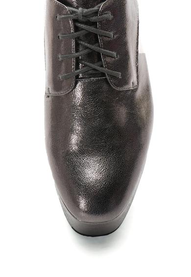 Calvin Klein Кожени обувки Natalye Derby с метален ефект Жени