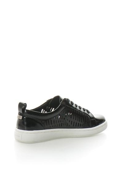 Calvin Klein Denise lakkbőr cipő perforált részletekkel női