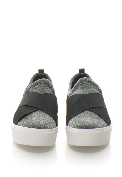 fb0a58e217 Jenifer bőr bebújós cipő lurexbetétekkel - Calvin Klein (E5694-SLB)