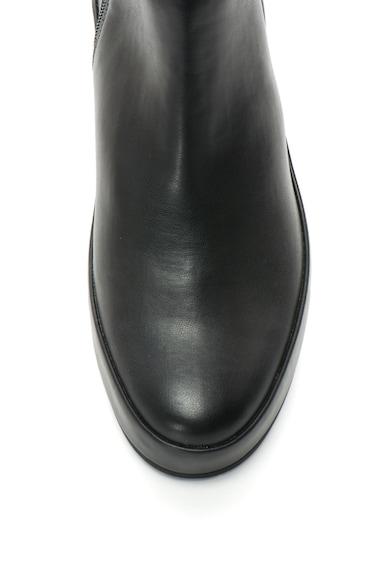 Calvin Klein Cizme inalte pana la genunchi din piele sintetica elastica Henrietta Femei