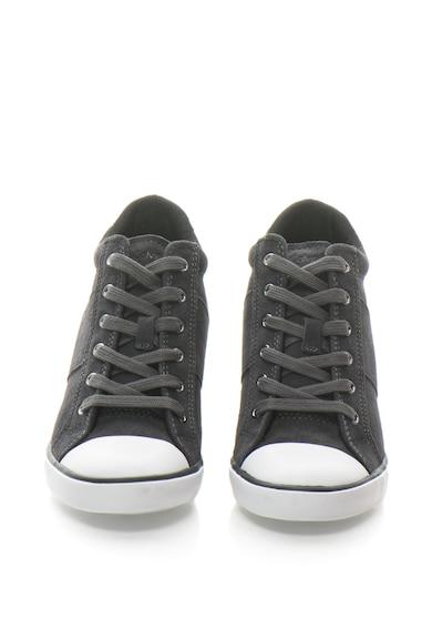 Calvin Klein Jeans Велурени спортни обувки Voss със скрита скосена платформа Жени