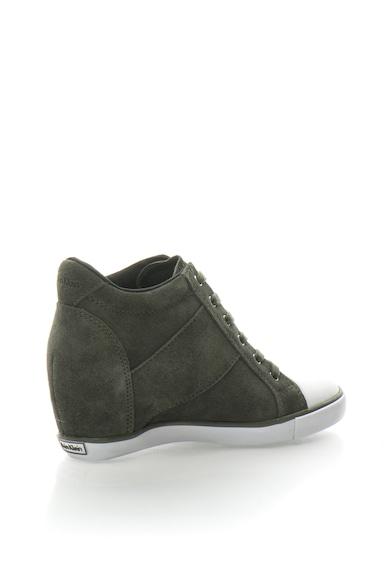 Calvin Klein Jeans Велурени спортни обувки Voss със скрита скосена платформа и подсилен връх Жени