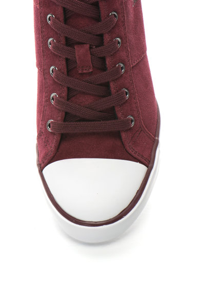 Calvin Klein Jeans Спортни обувки Voss от велур със скрита скосена платформа и подсилен връх Жени