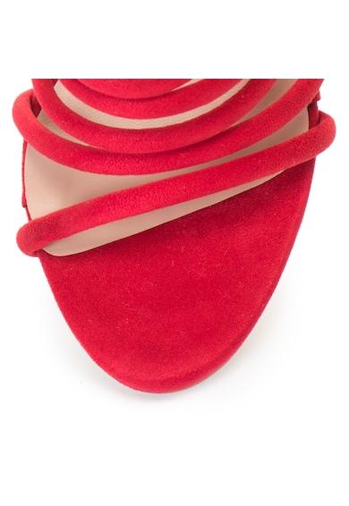 Release Sandale elegante cu barete multiple,  Piele sintetica, 36 Femei