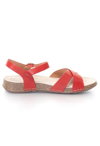 Release Sandale joase cu barete incrucisate,  Piele sintetica si interior de piele naturala Femei