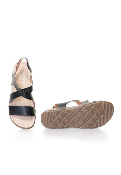 Release Sandale joase confortabile cu barete,  Piele sintetica si interior de piele naturala Femei