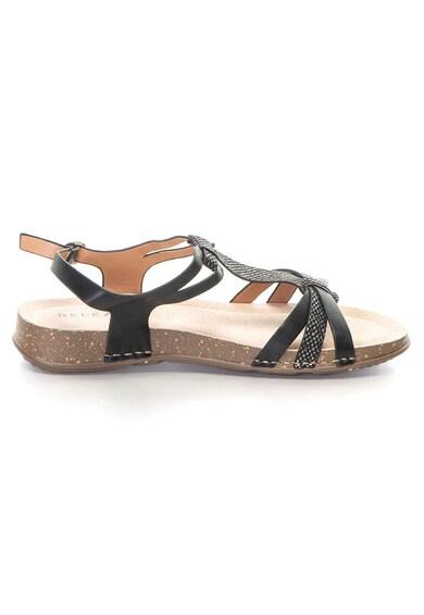 Release Sandale joase comode cu imitatie din piele de sarpe,  Piele sintetica si interior de piele naturala Femei