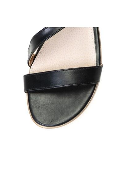 Release Sandale joase cu doua caterame,  Piele sintetica si interior de piele naturala Femei