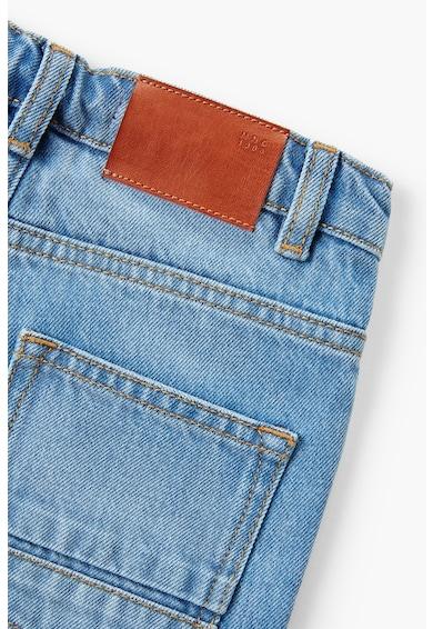 Mango Pantaloni scurti din denim cu aspect decolorat John Denim Baieti