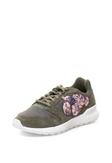 Le Coq Sportif Pantofi sport din plasa cu garnituri de piele intoarsa sintetica Omega Femei