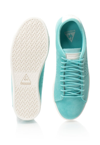 Le Coq Sportif Pantofi sport de piele intoarsa cu detalii perforate Charline Femei