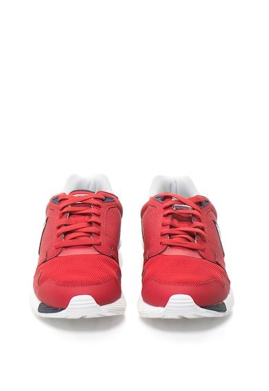 Le Coq Sportif Pantofi sport de piele sintetica cu design perforat Omega X Barbati