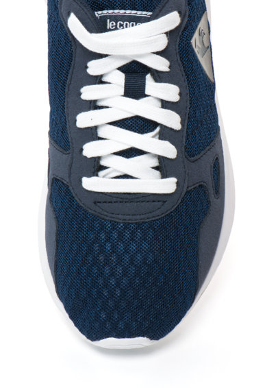 Le Coq Sportif Pantofi sport cu aspect de plasa si garnituri de piele intoarsa sintetica Femei
