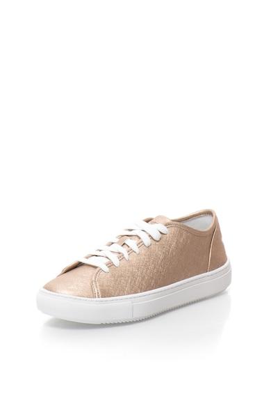 Le Coq Sportif Pantofi sport cu aspect metalic Jane Femei