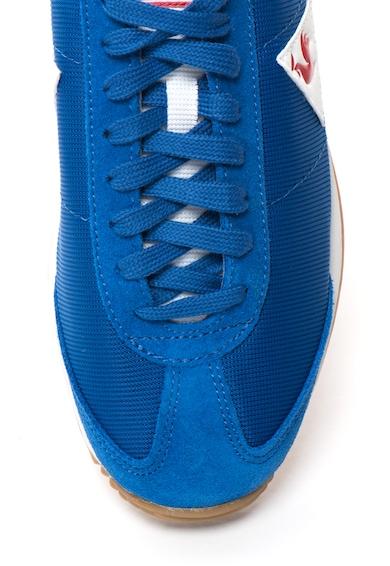 Le Coq Sportif Pantofi sport si garnituri de piele intoarsa si plasa Quartz Barbati