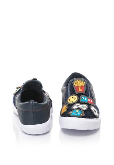 bibi kids Agility bebújós cipő bőrbetétekkel&levehető rátétekkel Fiú