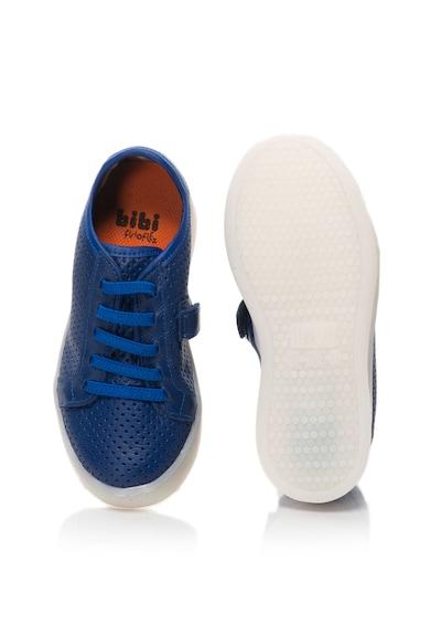 bibi kids Pantofi sport slip-on de piele cu LED-uri Cliqu3-Se Baieti