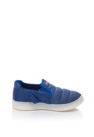 bibi kids Pantofi slip-on cu LED-uri pe talpa Cliqu3-Se Colors Baieti