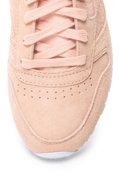 Reebok Classics Pantofi cu insertii de piele intoarsa, pentru alergare Femei