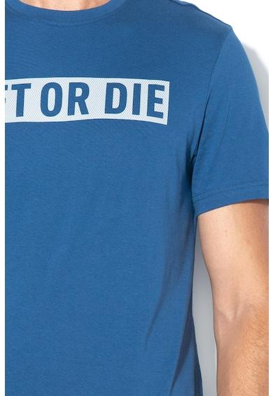 Reebok Тениска за фитнес, с текстова щампа Мъже
