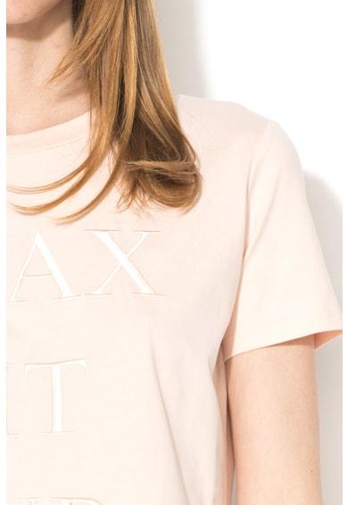 Max&Co Tricou din bumbac cu design brodat Doralice Femei