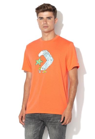 Converse Тениска с гумирана щампа Мъже